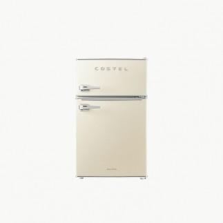코스텔 클래식 레트로 냉장고 86L 크림 아이보리 CRS-86GAIV